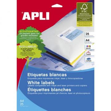 ETIQUETES A4 (0254x0100) (025f/189ef) APL10198CR R