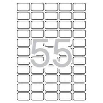 ETIQUETES A4 (0368x0238) (100f/55ef) APL03051 CR R