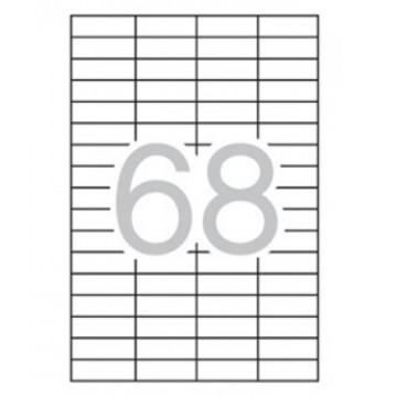 ETIQUETES A4 (0485x0169) (100f/68ef) APL03053 R