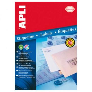 ETIQUETES A4 (0485x0254) (010f/44ef) APL10050 TRANSPARENT
