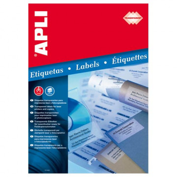 ETIQUETES A4 (0485x0254) (020f/44ef) APL01223 TRA
