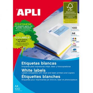 ETIQUETES A4 (0525x0297) (100f/40ef) APL01286