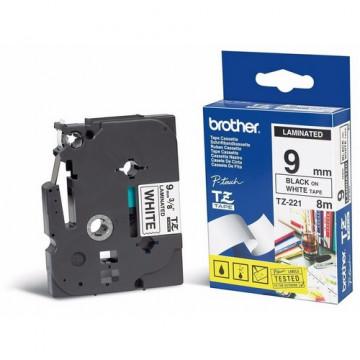 CINTA C BROTHER TZcFA231 12mm NEGRE/BLANC ROBA/PLANXA