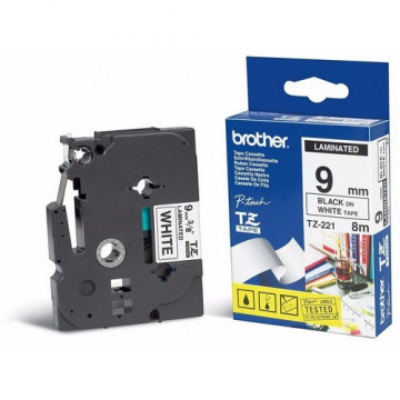 CINTA C BROTHER TZcFA3 12mm BLAU/BLANC ROBA/PLANXA