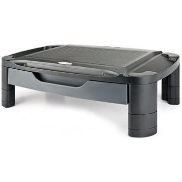 SOPORT MONITOR CALAIX 550x350x175 TABLET NEGRE AIDATA (ELEVABLE)