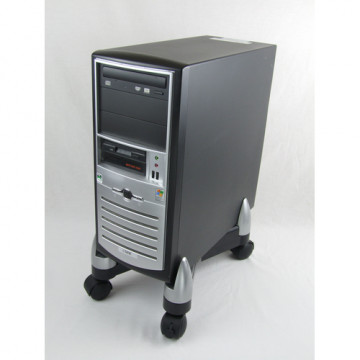 SOPORT CPU AMB RODES PLASTIC OFFICE SUITE