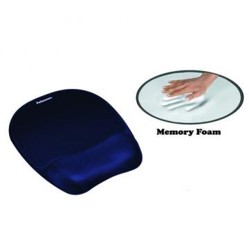 Reposamuñecas ratón Memory Foam azul Fellowes