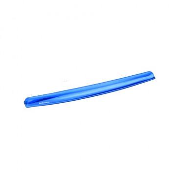 Reposamuñecas teclado gel Cristal azul Fellowes
