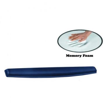 Reposamuñecas teclado Memory Foam azul Fellowes