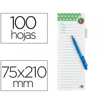 BLOC MAGNETIC LLISTA COMPRA + BOLI 75x210