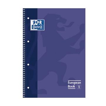 CUAD. ESP. OXFORD T.D. A4+ C.5 LILA (080f)