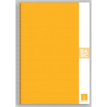 CUAD. ESP. T.D. A4 C.4 80f 80gr BASIC TAPA GROC