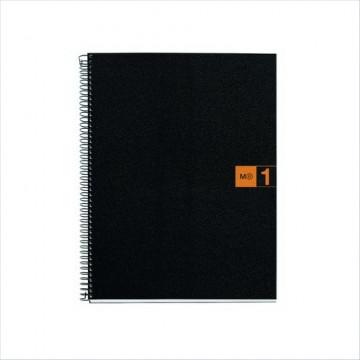 Cuaderno espiral A4 80 hojas microperforadas 4 tal
