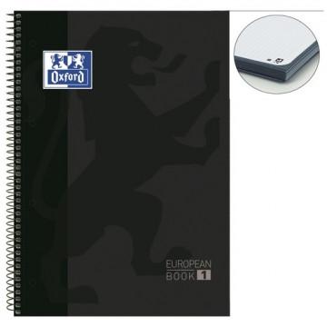 Cuaderno espiral A4+  80 hojas 4  taladros cuadríc