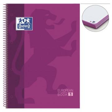 Cuaderno espiral A4+ 80 hojas 90 gramos 4 taladros cuadrícula 5x