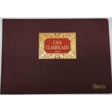 LLIBRE COMPTABILITAT Nº  8 CAJA CLAS. (6 i 8COL)(300x210mm) FOLI