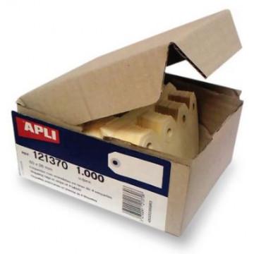 ETIQUETES AMB ARANDELA 38x80 (1000u) APL034003