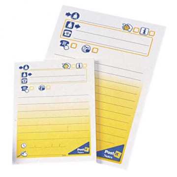 TACO NOTES ADH. 102x149 MENSAJE POST-IT 7693 (50f)