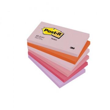 Notas adhesivas 655 gama Alegría 76x127mm. 6 blocs