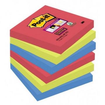 Notas adhesivas 76x76mm. colores Joya Pop Pack de