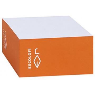 TACO NOTES 100x100  (500f) BLANC / CANTO COLOR TARONJA