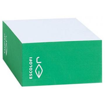 TACO NOTES 100x100  (500f) BLANC / CANTO COLOR VERD