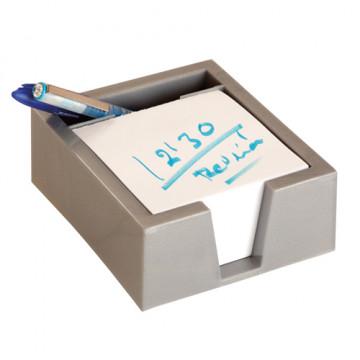 PORTA TACO NOTES 10x10 PLASTIC GRIS