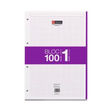 REC. FULLS 04T. NOTE BOOK OFIEXPERTS LILA (80f) 80gr.