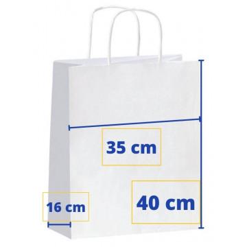 BOSSA PAPER 35x16x40 BLANCA (50u) APL101650