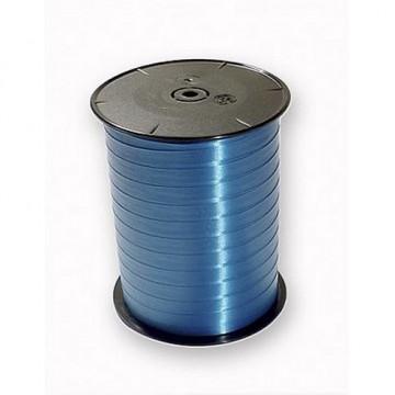 Cinta Regalo Bobina lisa 500mx7mm. azul Francia