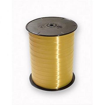 Cinta Regalo Bobina lisa 500mx7mm. oro