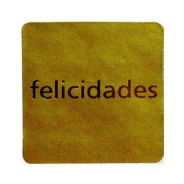 ETIQUETES REGAL FELICIDADES (250u.) ROTLLO
