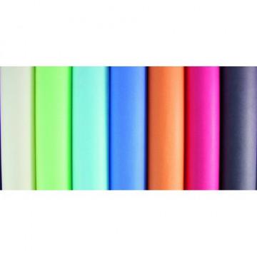 Papel regalo Rollo papel kraft 3 x 0,7m en cartón Surt.  col. pasteles