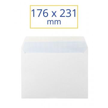 SOBRE BLANC ADH.176x231 4º (100u)