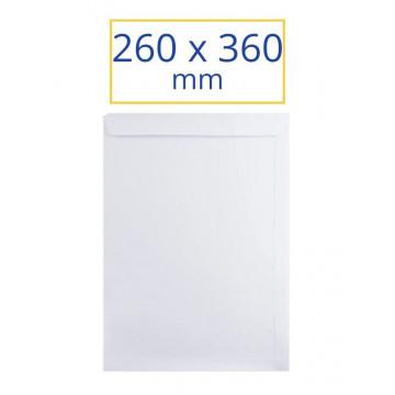 SOBRE BLANC ADH.260x360 FOLI ECOLOGIC (100u)