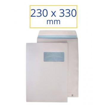 BOSSA BLANCA F.D. 230x330 DIN A4 (100u)