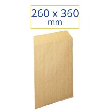 BOSSA KRAFT 260x360 IMPRESA CORREO INTERNO (100u.)