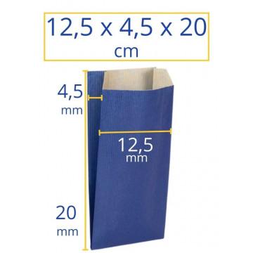 Sobres kraft 12,5x4,5x20cm azul 250u Apli