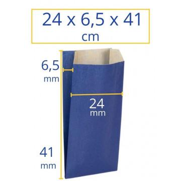 Sobres kraft 24x6,5x41cm azul 250u Apli