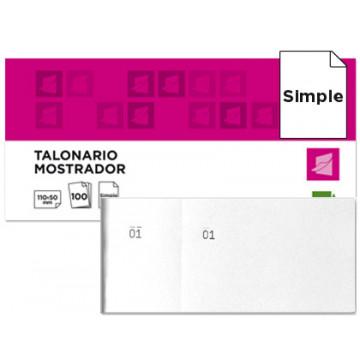 TAL. CONTAX TICKET  (52x65) Nº 00430