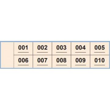 TAL. CONTAX NUMEROS 1-1000 (50x185) Nº 915