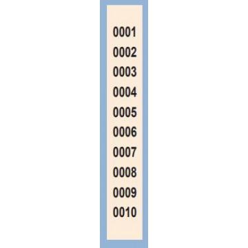TAL. CONTAX 1-1000 (TIRA 10 NUM) Nº 980/1 30x210