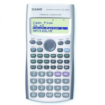CALC. FINANCERA 072X130 10D CASIO FC100V