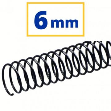CANUTO PLASTIC (21a) 06 mm (20 FULLS) NEGRE