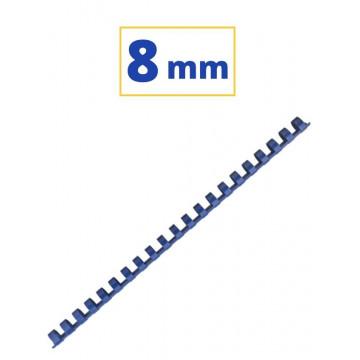 CANUTO PLASTIC (21a) 08mm (40 FULLS) BLAU