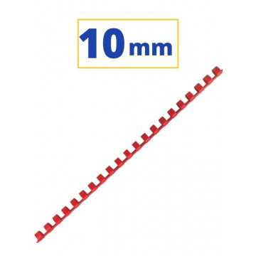 CANUTO PLASTIC (21a) 10mm (60 FULLS) VERMELL