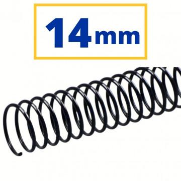 CANUTO PLASTIC (21a) 14 mm (100 FULLS) NEGRE