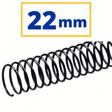 CANUTO PLASTIC (21a) 22 mm (200 FULLS) NEGRE