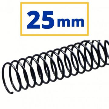 CANUTO PLASTIC (21a) 25 mm (240 FULLS) NEGRE