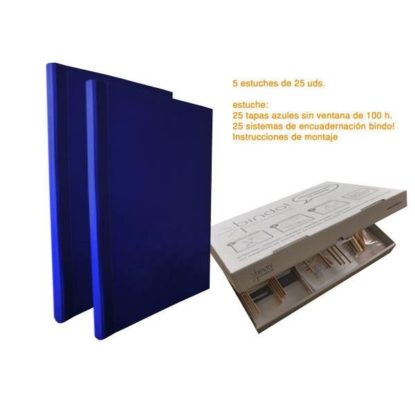 TAPA BINDO 350 gr BLAU (01-50f)